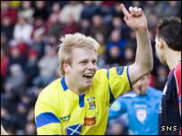 Kilmarnock forward Steven Naismith