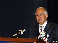 Najib Razak (archive image)