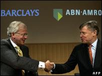 John Varley and Rijkman Groenink