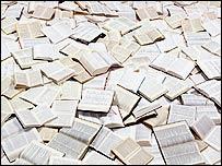 Pile of novels