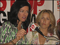 Laurie David and Sheryl Crow