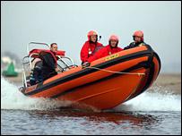 Coastguard lifeboat