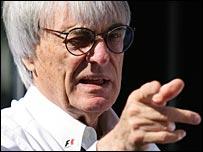 F1 ringmaster Bernie Ecclestone