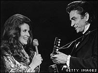 June Carter Cash y Johnny Cash