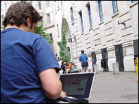 Outdoor wi-fi use, BBC