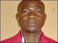 Nigerian voter Donaman