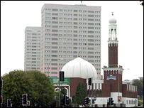Mezquita en Birmingham, Reino Unido