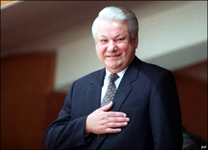Boris Yeltsin in 1993