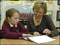 Milly Bell with mother Gaynor Appleby