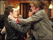 EastEnders actors Matt Di Angelo and Niall Greig Fulton