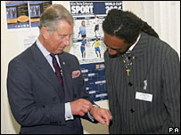 Prince of Wales and Erroll Graham