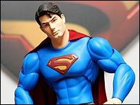 Figura pl�stica de Superman