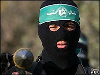Member of the Izzedine al-Qassam Brigades, armed wind of Hamas