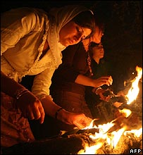 Yazidi new year celebrations