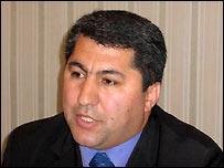 Лидер партии исламского возрождения Таджикистана Мухидин Кабири