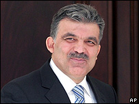 Turkish Foreign Minister Abdullah Gul