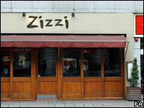 Zizzi on The Strand