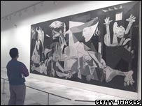 Picasso's Guernica painting