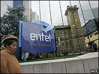 Sede de Entel en Bolivia.
