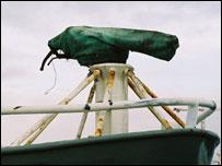 A harpoon (Image: BBC)