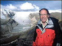 Lonnie Thompson, cientfico de EE.UU. experto en glaciares