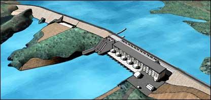 Bujagali dam (Image: Bujagali Energy Limited)