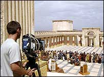 Filming for BBC drama set in ancient Rome