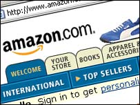 Amazon.com webpage