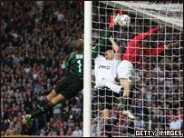 Primer gol del Manchester United