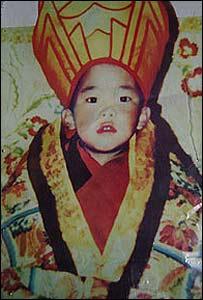 Редкое изображение 11-го Панчен-ламы (любезно предоставлено ICT)