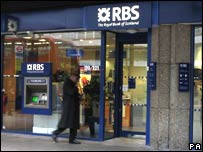 Royal Bank of Scotland shop front