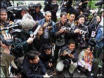 Media awaiting verdict in Blackman case