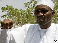 ANPP's Muhammadu Buhari (File photo)