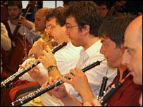 Wind section, La Scala orchestra