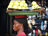 Street scene in Ghana
