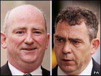 Civil servant David Keogh, 50, and MP's researcher Leo O'Connor, 44