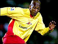 Watford midfielder Damien Francis