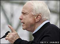 Republican Arizona Senator John McCain