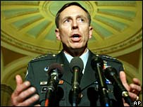 General David Petraeus at Capitol Hill