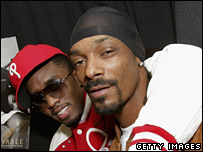 P Diddy and Snoop Dogg