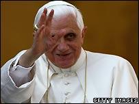 Pope Benedict (file image)