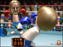 Screenshot from Wii Sports