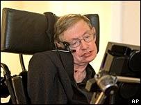 Stephen Hawking in Orlando  Image: AP