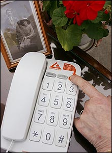 Photo of the Alertacall phone