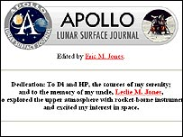 Apollo Lunar Surface Journal