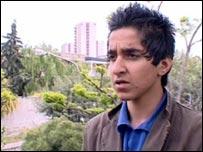 Tehran teenager Tofiq