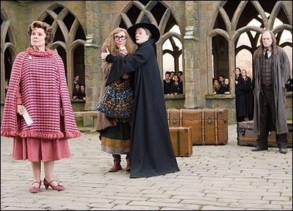 "Escena del film ""Harry Potter y la Orden del F�nix""."