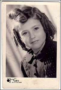 Suzanne Rappoport as a child (image care of Screenhouse Productions)