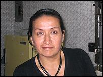 Amanda Guti�rrez, del restaurante La Frutera de Bogot�.