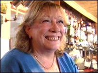 Landlord Debbie Trevithick of the Peruvian Arms pub